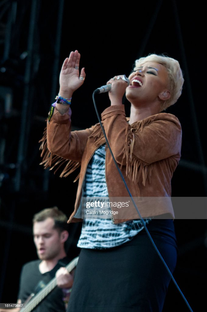 Emeli Sande performs on stage at Bestival at Robin Hill Country Park on September 7, 2012 in Newport, United Kingdom.
