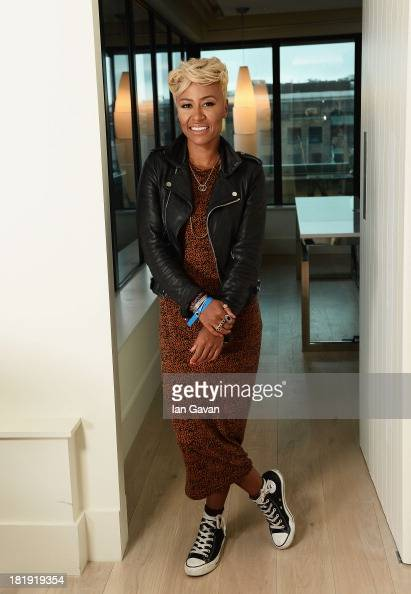 Emeli Sande poses ahead of the fifth annual Arthur's Day celebrations on September 26 2013 in Dublin Ireland Arthur's Day sees fans come together to...