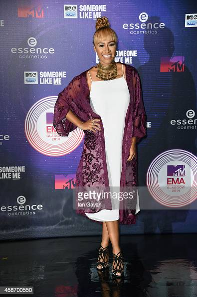 Emelie Sande attends the MTV EMA's 2014 at The Hydro on November 9 2014 in Glasgow Scotland