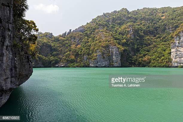 Emerald Lake at the Ang Thong National Marine Park