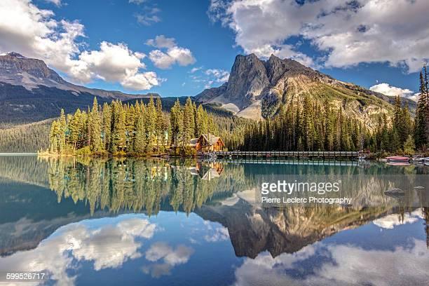 Emerald Lake Lodge Reflection