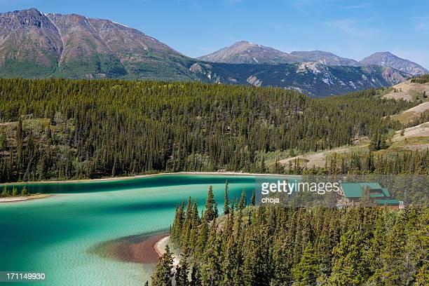 Emerald Lake,Yukon Canada