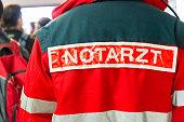 german emergency doctor in mission