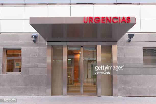 Notfall-Eingang in spanischen hospital