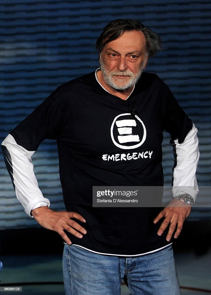 Emergency founder <a gi-track='captionPersonalityLinkClicked' href=/galleries/search?phrase=Gino+Strada&family=editorial&specificpeople=4203022 ng-click='$event.stopPropagation()'>Gino Strada</a> attends Che Tempo Che Fa Italian TV Show held at RAI Studios on April 11, 2010 in Milan, Italy.