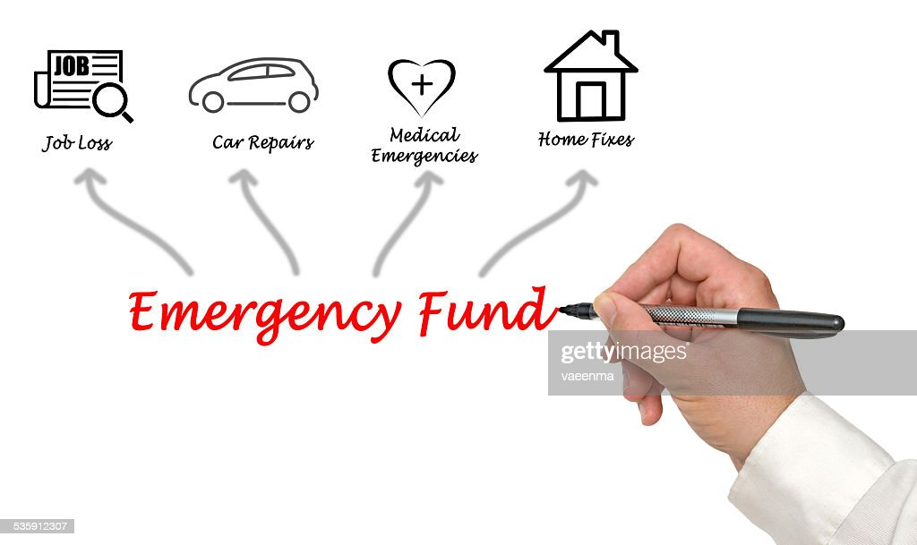 Emergency Fund : Stock Photo