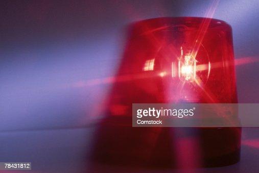 Emergency light on vehicle