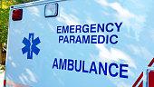 Ambulance Emergency Paramedic with Logo