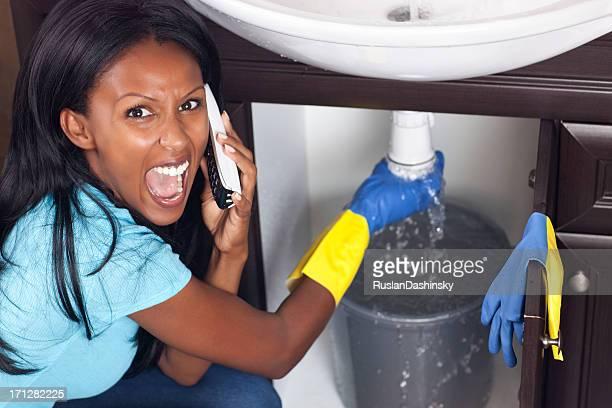 Emergency plumbing.