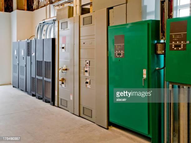 Notfall Stromversorgung für Daten-Center