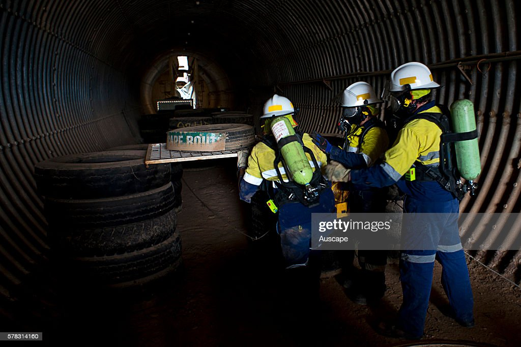 Emergency response training an essential element of mining industry safety simulating a range of emergency and rescue disciplines including first aid...