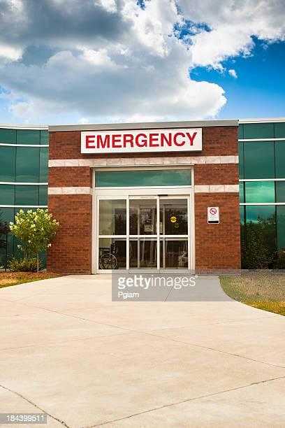 Notaufnahme Eingang des hospital