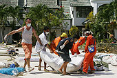 Emergency Services Continue Work In The Devasted Areas Of Thailand
