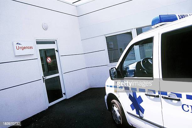 Emergency Transportation Chatellerault Hospital Camille Guerin Hospital In The French Department Of Vienne