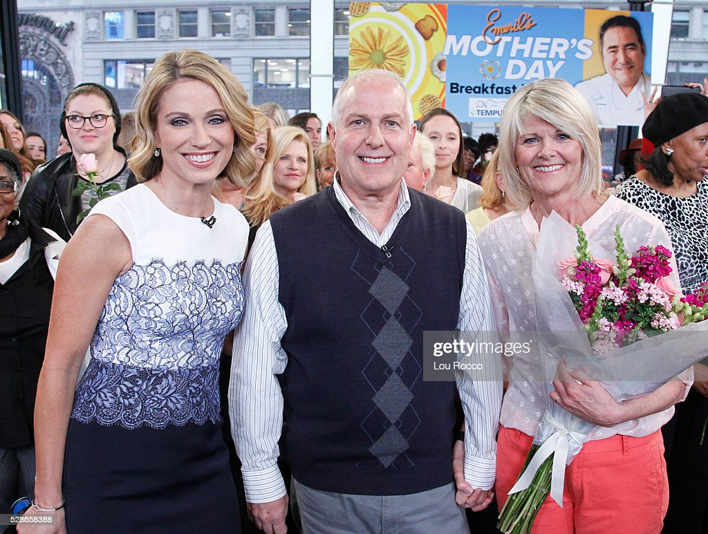 AMERICA - Emeril Lagasse hosts a Mother's Day breakfast in bed for one special mother on 'Good Morning America,' 5/6/16, airing on the ABC Television Network. AMY