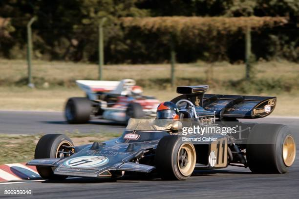 Emerson Fittipaldi LotusFord 72D Grand Prix of Argentina Autodromo Juan y Oscar Galvez Buenos Aires 23 January 1972