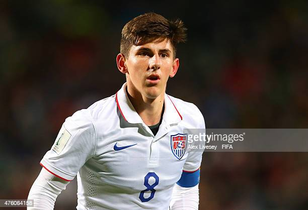 Emerson Hyndman of USA during the FIFA U20 World Cup Group A match between Ukraine and USA at the North Harbour Stadium on June 5 2015 in Auckland...