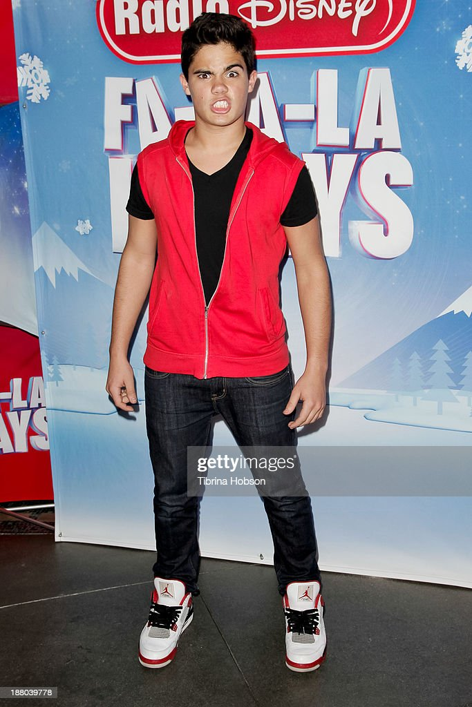 Emery Kelly attends the tree lighting ceremony at Hollywood & Highland Center on November 14, 2013 in Hollywood, California.