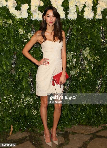 Emi Renata attends the Maison StGermain LA Debut hosted by Lily Kwong on August 02 2017 in Los Angeles California