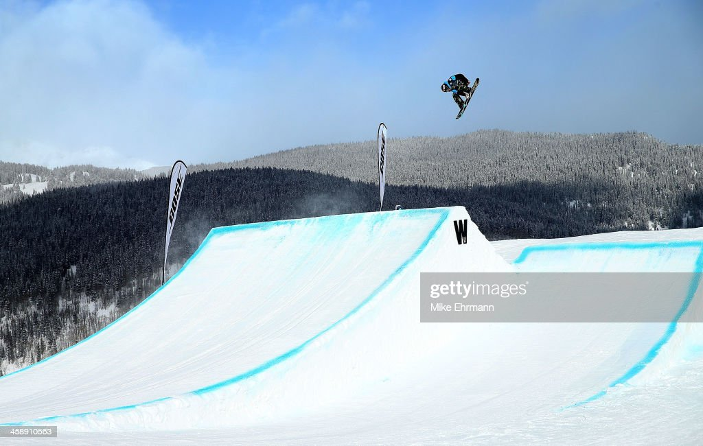 Emil Andre Ulsletten of Norway competes during finals for the FIS Snowboard Slopestyle World Cup at U.S. Snowboarding and Freeskiing Grand Prix on December 22, 2013 in Copper Mountain, Colorado.