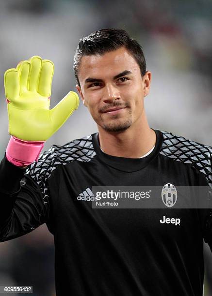 Emil Audero during Serie A match between Juventus v Cagliari in Turin on September 21 2016
