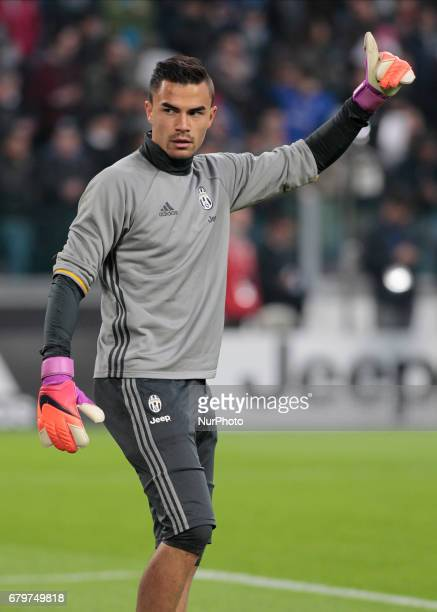 Emil Audero during Serie A match between Juventus v Torino in Turin on may 6 2017