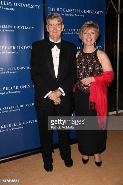 Emil Gotschlich and Kathleen Haines attend The Rockefeller University Hospital Centennial Celebration at The Rockefeller University on October 7 2010...
