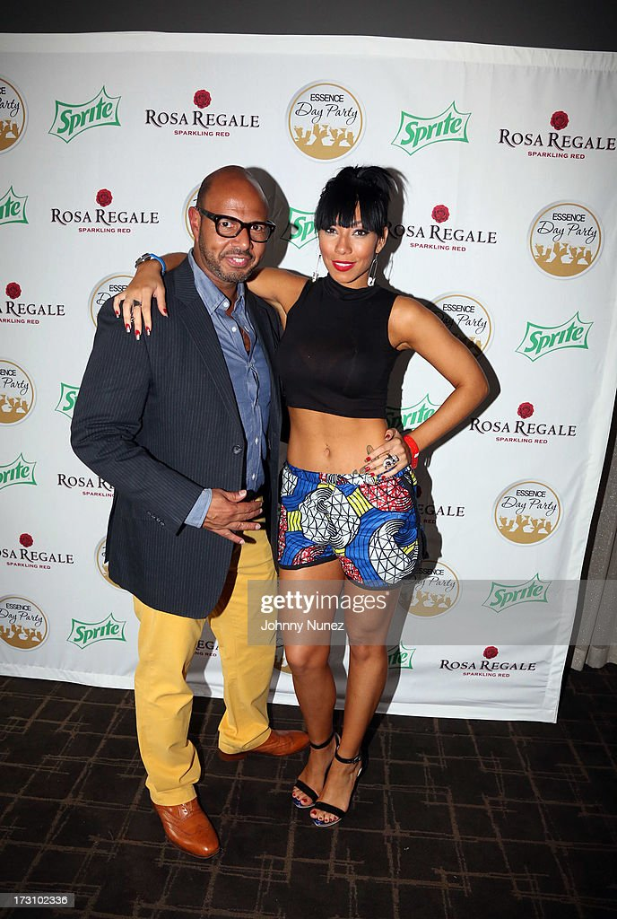 Emil Wilbekin and Bridget Kelly attend the Essence Day party at the W New Orleans on July 6, 2013 in New Orleans, Louisiana.