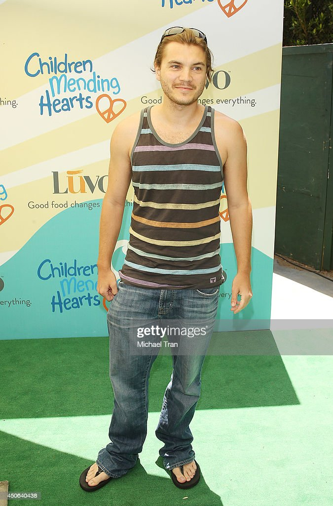 Emile Hirsch arrives at the Children Mending Hearts's 6th Annual Fundraiser 'Empathy Rocks A Spring Into Summer Bash' held at a private residence on...