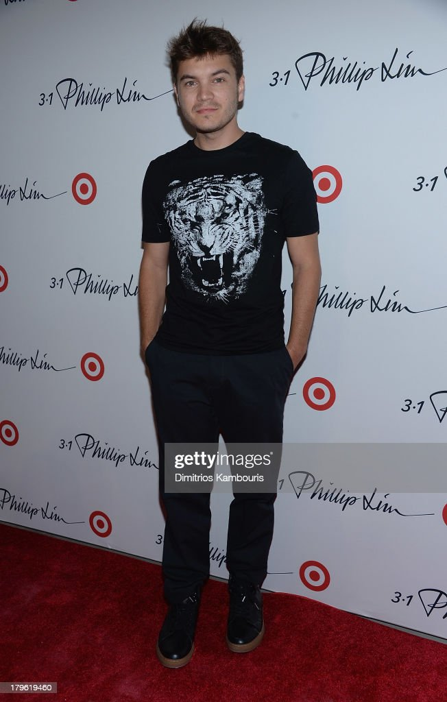 <a gi-track='captionPersonalityLinkClicked' href=/galleries/search?phrase=Emile+Hirsch&family=editorial&specificpeople=210805 ng-click='$event.stopPropagation()'>Emile Hirsch</a> attends the 3.1 Phillip Lim for Target Launch Event at Spring Studio on September 5, 2013 in New York City.