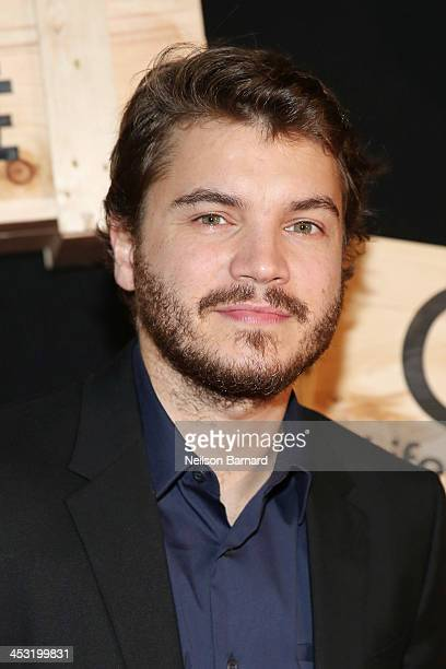 Emile Hirsch attends the 'Bonnie And Clyde' miniseries premiere at Heath at the McKittrick Hotel on December 2 2013 in New York City