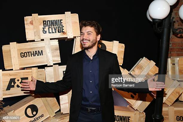 Emile Hirsch attends the 'Bonnie And Clyde' Series New York Premiere at The McKittrick Hotel on December 2 2013 in New York City