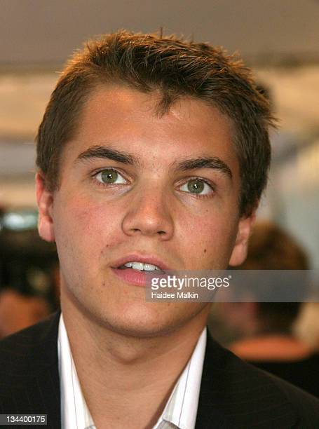 Emile Hirsch during 2004 Toronto International Film Festival 'Imaginary Heroes' Gala at Imaginary Heroes Gala Arrivals in Toronto Canada