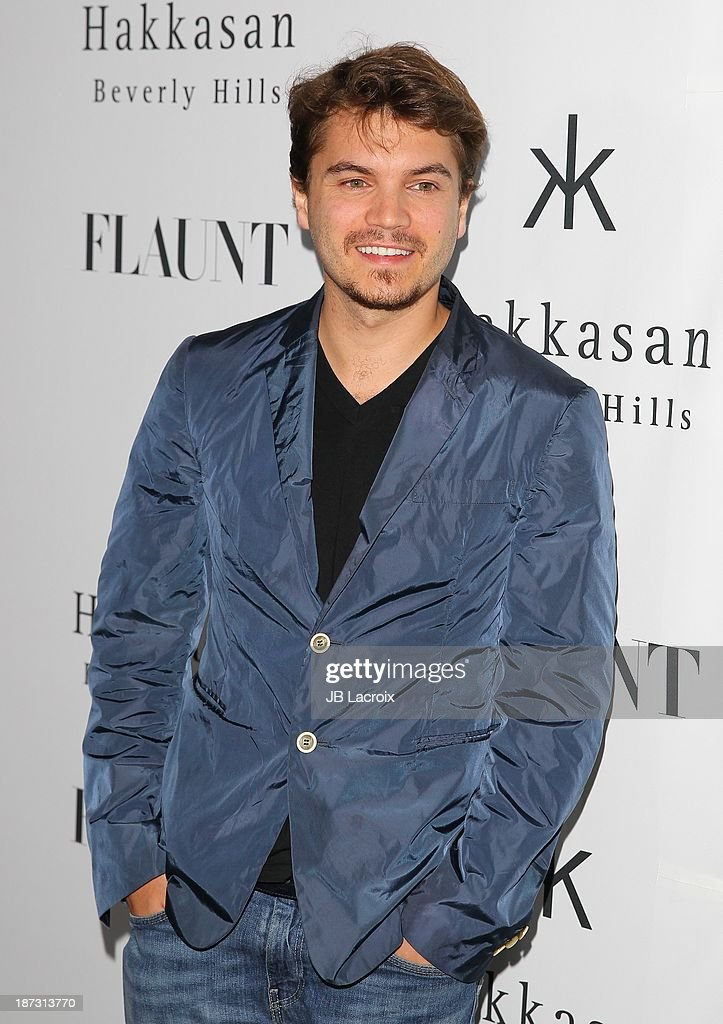 Emile Hirsche attends the Flaunt Magazine Issue Party with Selena Gomez And Amanda De Cadenet held at Hakkasan Beverly Hills on November 7, 2013 in Beverly Hills, California.