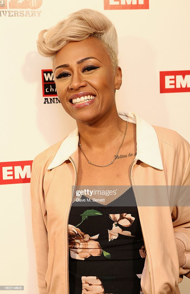 Emili Sande attends the EMI & War Child Brits Aftershow Party at 02 Arena on February 20, 2013 in London, England.
