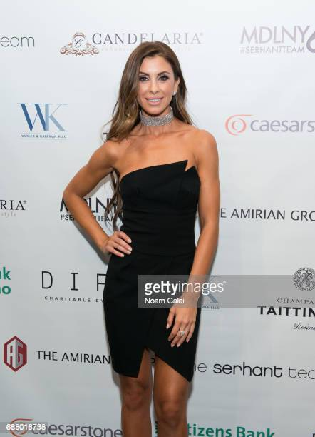 Emilia Bechrakis attends Ryan Serhant Hosts 'Million Dollar Listing New York' Season 6 New York Premiere at Marquee on May 24 2017 in New York City