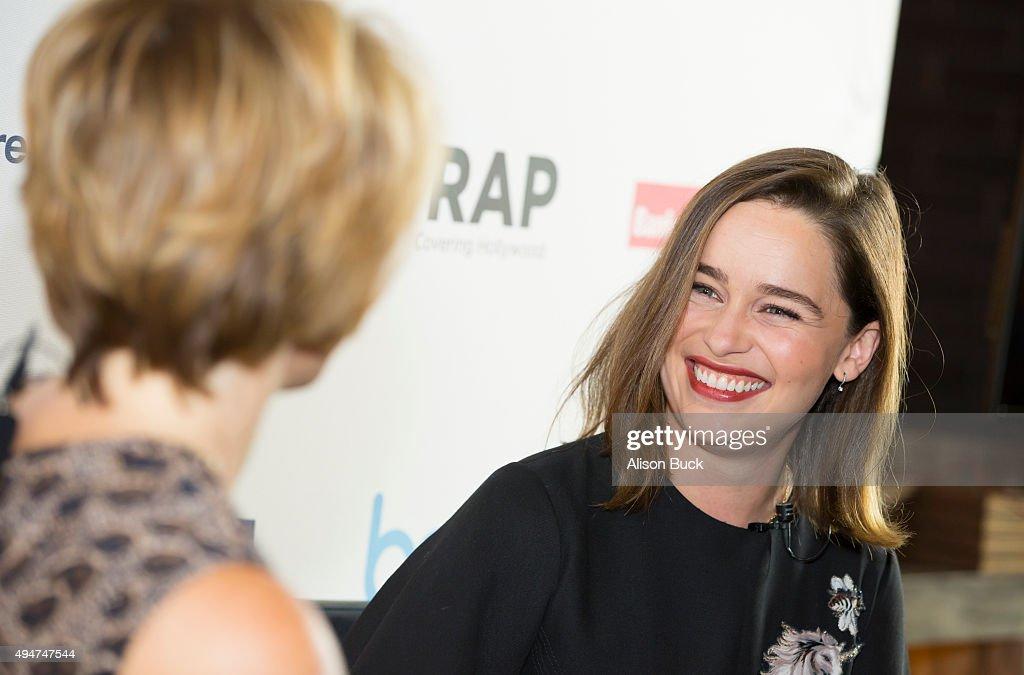 TheWrap's Power Women Breakfast Los Angeles With Emilia Clarke