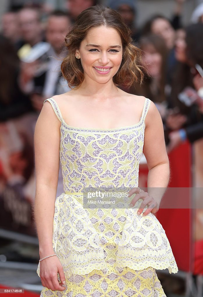 <a gi-track='captionPersonalityLinkClicked' href=/galleries/search?phrase=Emilia+Clarke&family=editorial&specificpeople=7426687 ng-click='$event.stopPropagation()'>Emilia Clarke</a> attends the European film premiere 'Me Before You' at The Curzon Mayfair on May 25, 2016 in London, England.