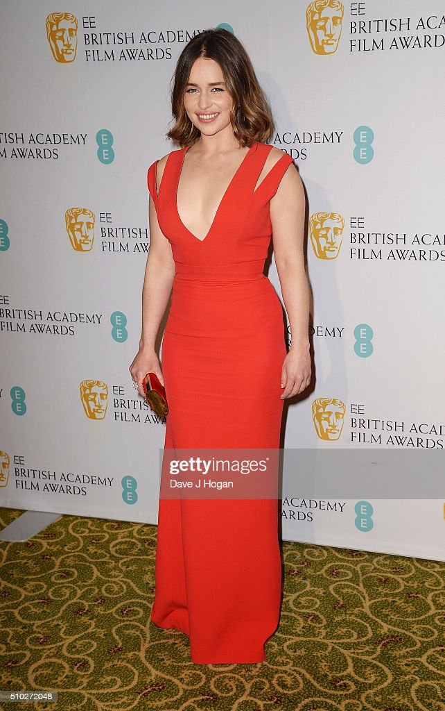 <a gi-track='captionPersonalityLinkClicked' href=/galleries/search?phrase=Emilia+Clarke&family=editorial&specificpeople=7426687 ng-click='$event.stopPropagation()'>Emilia Clarke</a> attends the official After Party Dinner for the EE British Academy Film Awards at The Grosvenor House Hotel on February 14, 2016 in London, England.