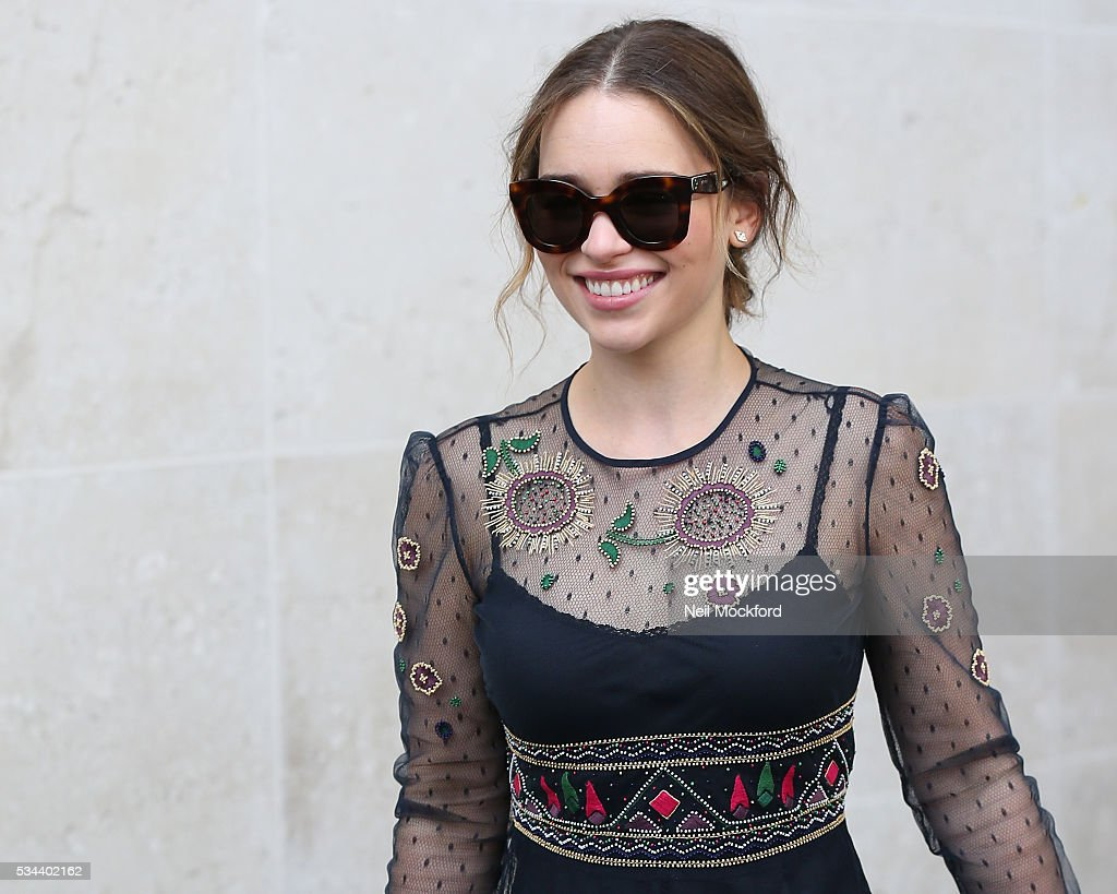 <a gi-track='captionPersonalityLinkClicked' href=/galleries/search?phrase=Emilia+Clarke&family=editorial&specificpeople=7426687 ng-click='$event.stopPropagation()'>Emilia Clarke</a> seen at BBC Radio One on May 26, 2016 in London, England.