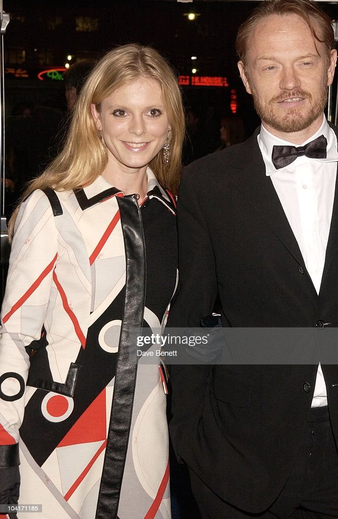 Emilia Fox And Jared Harris, Sylvia Movie Screening Starring Gwyneth Paltrow At The Closing Gala Of The London Film Festival, At The Odeon, Leicester Square, London