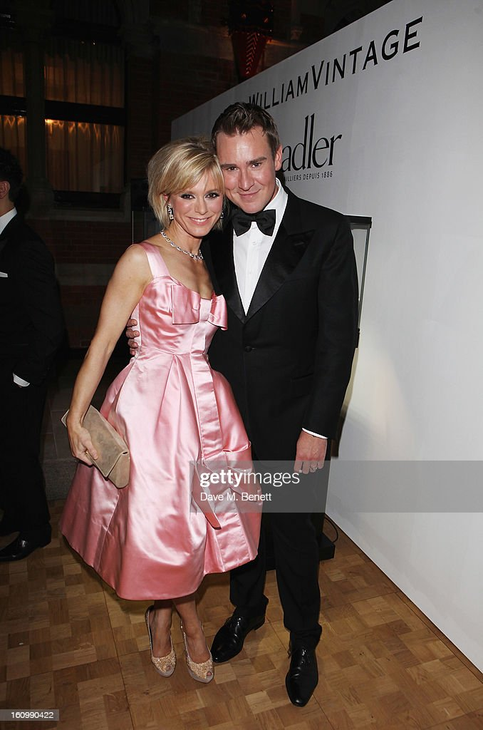 <a gi-track='captionPersonalityLinkClicked' href=/galleries/search?phrase=Emilia+Fox&family=editorial&specificpeople=210768 ng-click='$event.stopPropagation()'>Emilia Fox</a> and William Banks Blaney attends the WilliamVintage Dinner hosted by Gillian Anderson and William Banks-Blaney in association with Adler at St Pancras Renaissance Hotel on February 8, 2013 in London, England.