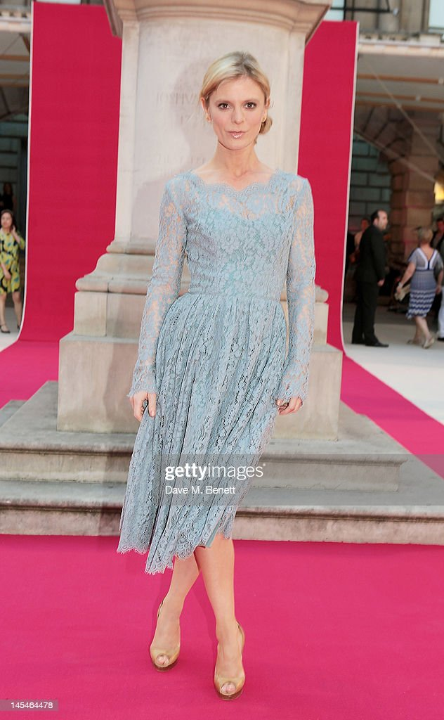 Emilia Fox arrives at the Royal Academy of Arts Summer Exhibition Preview Party at Royal Academy of Arts on May 30, 2012 in London, England.