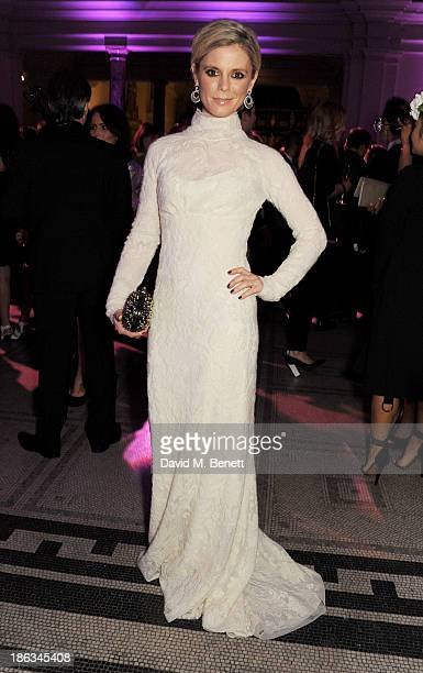 Emilia Fox arrives at The WGSN Global Fashion Awards at the Victoria Albert Museum on October 30 2013 in London England