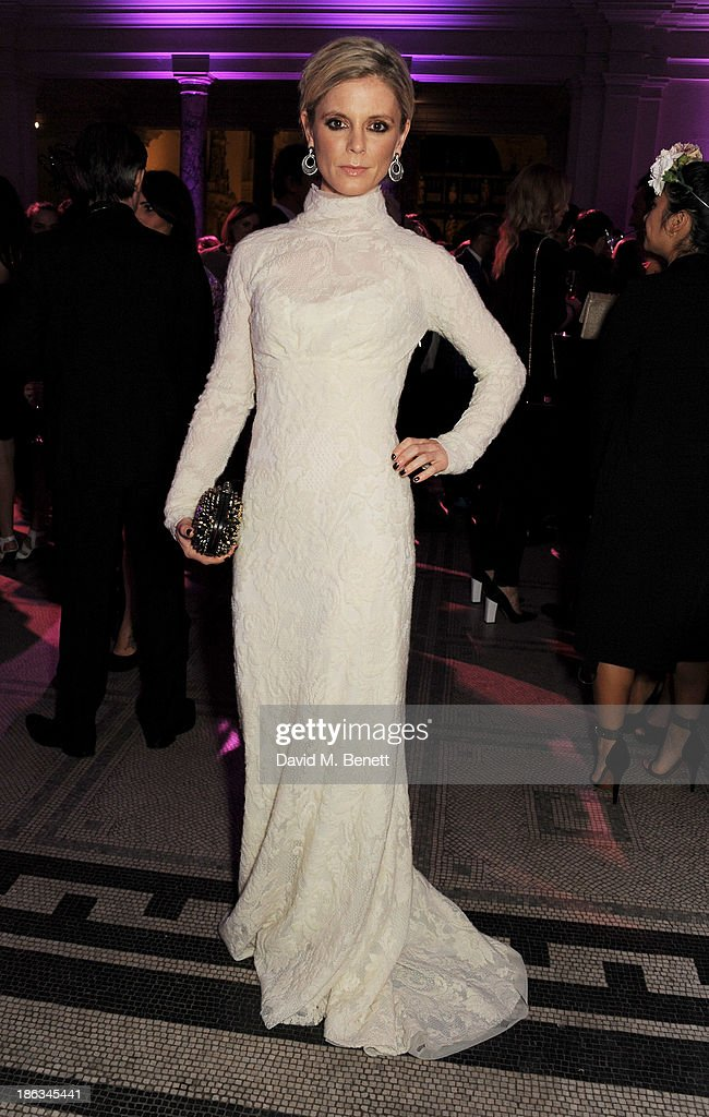 Emilia Fox arrives at The WGSN Global Fashion Awards at the Victoria & Albert Museum on October 30, 2013 in London, England.