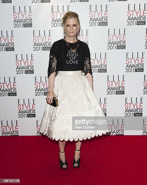 Emilia Fox Arriving For The Elle Style Awards At The Grand Connaught Rooms Great Queen Street London
