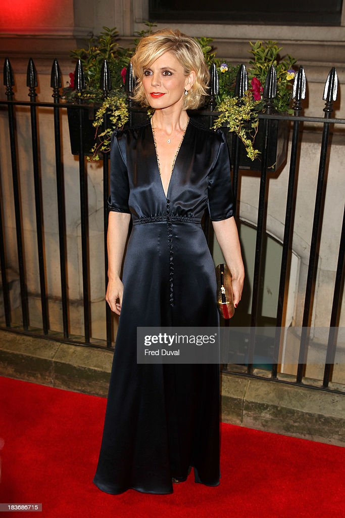 <a gi-track='captionPersonalityLinkClicked' href=/galleries/search?phrase=Emilia+Fox&family=editorial&specificpeople=210768 ng-click='$event.stopPropagation()'>Emilia Fox</a> attends the BFI Gala Dinner at 8 Northumberland Avenue on October 8, 2013 in London, England.