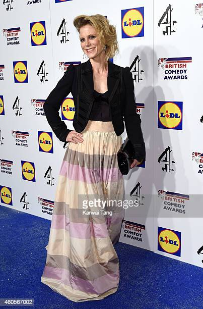Emilia Fox attends the British Comedy Awards at Fountain Studios on December 16 2014 in London England