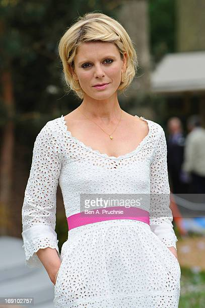 Emilia Fox attends the Chelsea Flower Show press and VIP preview day at Royal Hospital Chelsea on May 20 2013 in London England