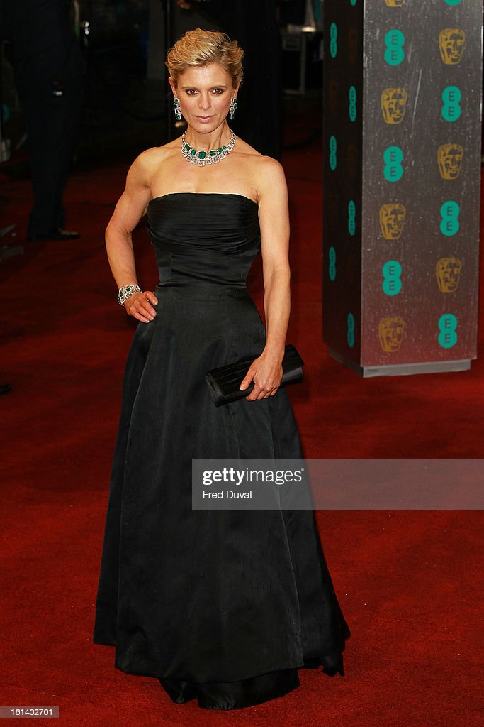 Emilia Fox attends the EE British Academy Film Awards at The Royal Opera House on February 10, 2013 in London, England.
